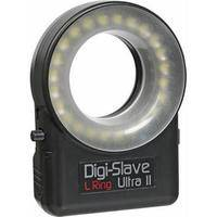 Digi-Slave L-Ring Ultra II LED Ring Light with Diffuser