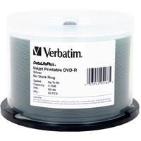 Verbatim DVD-R 4.7GB 8X DataLifePlus Printable (50)