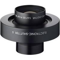 Schneider 120mm f/5.6 Apo Digitar N Lens w/ Schneider Electronic Shutter
