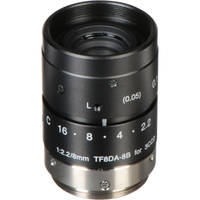 Fujinon TF8DA-8 8mm f/2.2 C-Mount Lens