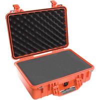 Pelican 1500 Case with Foam (Orange)