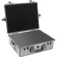 Pelican 1600 Case with Foam (Silver)