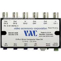 Vac DVRx-2 Dual 1x2 Channel Video Distribution Amplifier