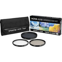 Hoya 77mm Introductory Filter Kit