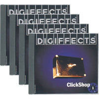 Sound Ideas Sample CD: ClickShop from Digiffect