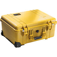 Pelican 1560NF Case without Foam (Yellow)