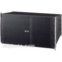 Toa Electronics SRA12SWP Weather-Resistant Mid-Sized Line Array Speakers (Black)