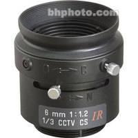 "Tamron 13FM06IR 1/3"" 6mm F/1.2 CS-Mount Manual Lens"