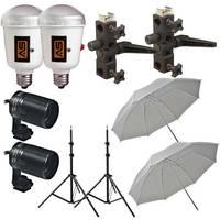 Morris 2 AC Umbrella Flash Kit (120V)