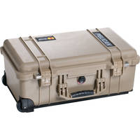 Pelican 1510 Carry On Case with Foam Set (Desert Tan)