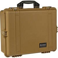 Pelican 1600 Case without Foam (Desert Tan)