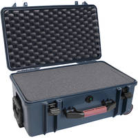 Porta Brace PB-2550F Hard Case with Foam Interior (Blue)