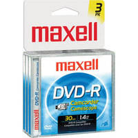 Maxell DVD-R Recordable Disc (Pack of 3)