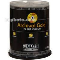 Delkin Devices Archival Gold SA CD-R (100)