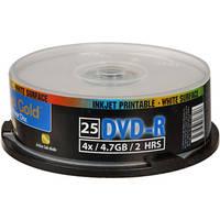 Delkin Devices AG DVD-R 4.7GB, 8x, Inkjet Disc (25)