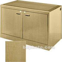 Sound-Craft Systems 2-Bay Equipment Credenza - Veneer/Natural Maple