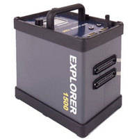 Bowens Explorer 1500 Portable Battery Generator - 1500 watts/second