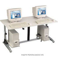 "Balt E.Eazy 6030 Training Table - 60 x 30"" (Gray)"
