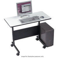 Balt LT-Laptop/Computer Table (Gray Top with Black Powder Coat)
