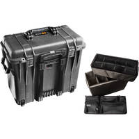 Pelican 1444 Top Loader 1440 Case with Utility Divider (Black)