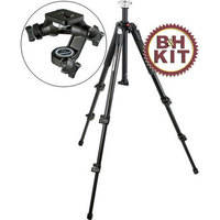 Manfrotto 190XB Tripod with 056 Junior 3-D Head Kit