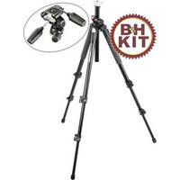 Manfrotto 190XPROB Tripod with 804RC2 3-Way Pan/Tilt Head Kit