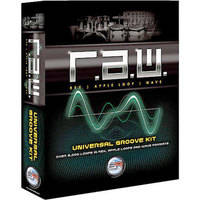 Sonic Reality Sample CD: R.A.W. Universal Groove Kit (AIFF, Rex and WAV)