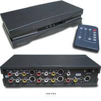 RF-Link AVS-41i 4x1 A/V Switcher with S-Video and Remote Control
