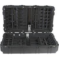 Pelican 1780W HL Long Case with Rigid Polyethylene Tray (Black)