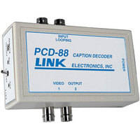 Link Electronics PCD-88 Portable Closed Caption Decoder