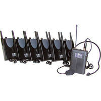 Anchor Audio TOUR-60 - 6-User Wireless Tourguide System
