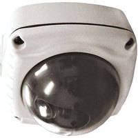 """Videolarm WS1C-50NF Warrior-1 3"""" Outdoor Vandal Resistant Surface Mount Color High Resolution Dome Camera"""