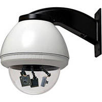 "Videolarm QFDWC3-50NA Q-View 7"" Multiple Color Camera Dome System"