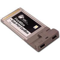 SIIG 2-Port FireWire-400 PCMCIA Cardbus Host Card