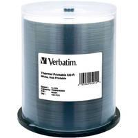 Verbatim CD-R White Thermal/Hub Disc (100)