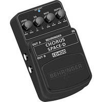Behringer CHORUS SPACE-D CD400 Digital 3-Dimensional Sound Effects Pedal