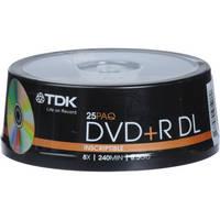 TDK DVD+R DL 8.5GB Disc (25)