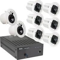 Atlas Sound APAKFAPS Amplifier and Speaker Package System