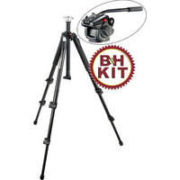 Manfrotto 055XB Tripod System with 501HDV Pro Video Head