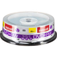 Maxell DVD+RW 4.7GB, 4x Disc (15)