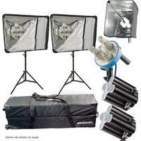 Westcott Monte Zucker Deluxe 4 Light Fluorescent Kit (220V)
