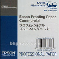 """Epson Commercial Inkjet Proofing Paper (17"""" x 100' Roll)"""