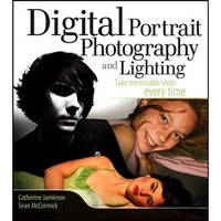 Wiley Publications Book: Digital Portrait Photography and Lighting