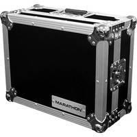 "Marathon MA-12MIX 12"" Flight Road DJ Mixer Case (Black and Chrome)"