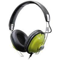 Panasonic RP-HTX7 Around-Ear Stereo Headphones (Green)
