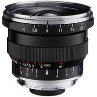Zeiss Super Wide Angle 18mm f/4 Distagon T* ZM Manual Focus Lens - Black