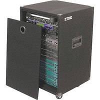 Odyssey Innovative Designs CRE16W Carpeted Econo Rack Case (Black)