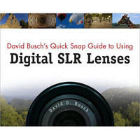Cengage Course Tech. Book: David Busch's Quick Snap Guide to Using Digital SLR Lenses by David D. Busch