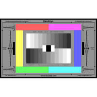 DSC Labs ColorBar/GrayScale Maxi CamAlign Chip Chart with Resolution