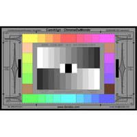 DSC Labs ChromaDuMonde 28-R Senior CamAlign Chip Chart with Resolution Trumpets